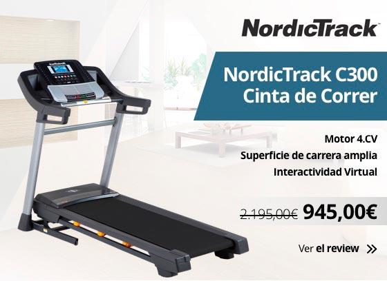 Cinta de correr Nordictrack C300