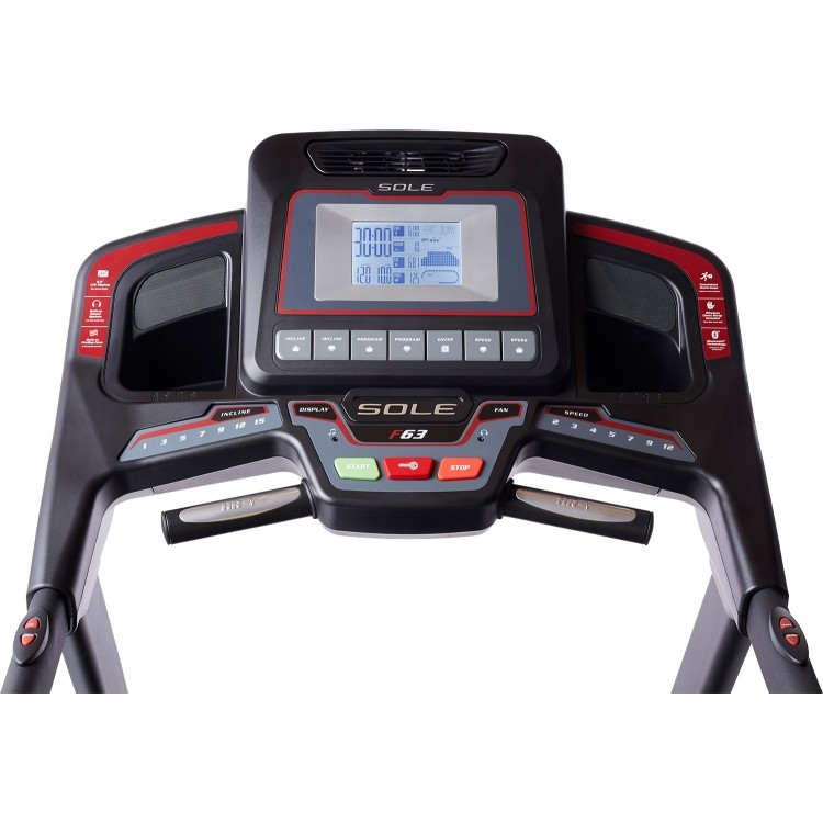 consola sole fitness f63 modelo 2019